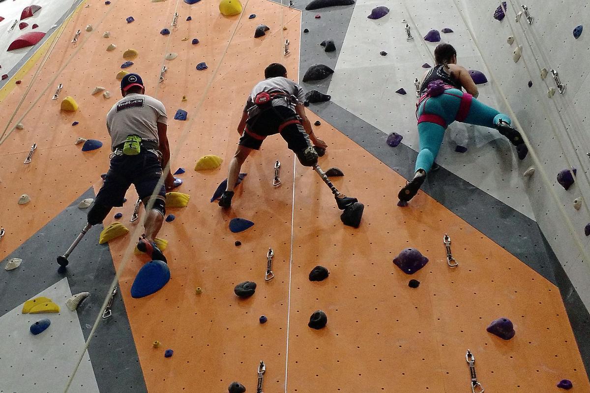 Rock Climbing   Shirley Ryan AbilityLab - Formerly RIC