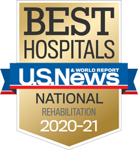 U.S. News and World Report #1 Rehabilitation Hospital