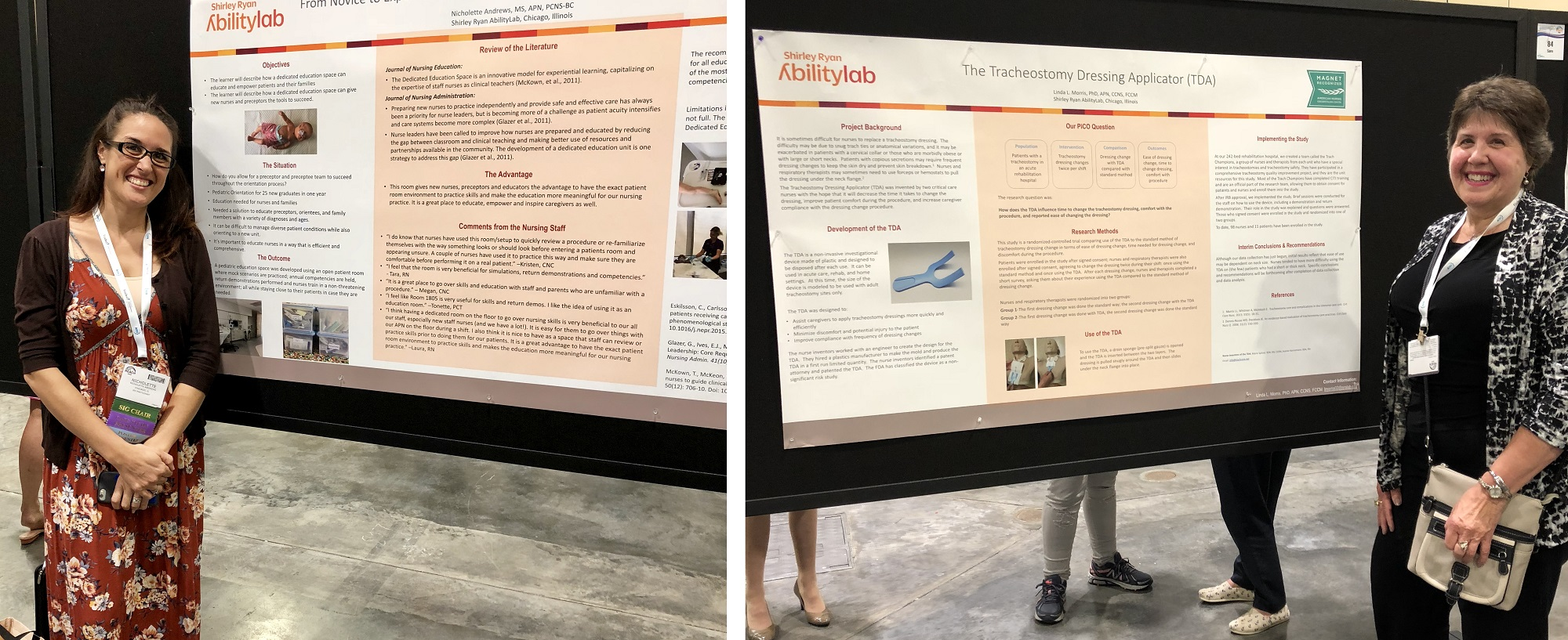 Posters and case studies at ARN's 2018 conference