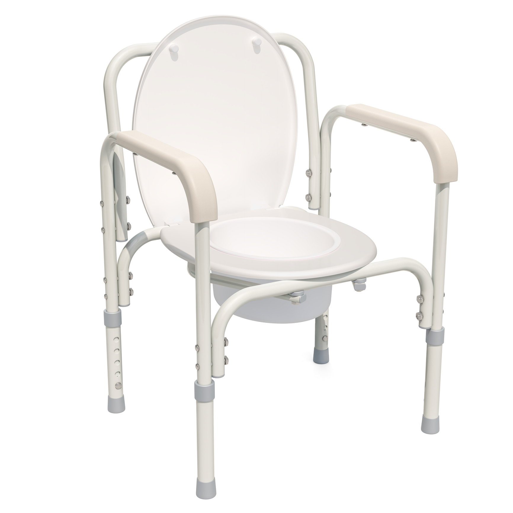 Handicap portable toilet chair