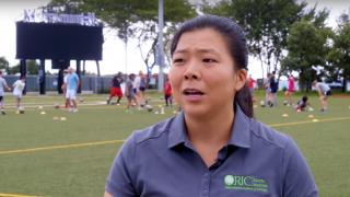 Dr Monica Rho, Head Team Physician for the U.S. Men's Paralympic National Soccer Team