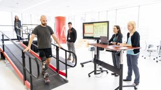 Center for Bionic Medicine Prosthetic Limb Testing