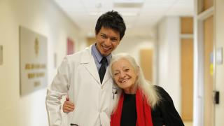 Shirley Ryan AbilityLab doctor with patient