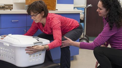 Chronic pain being treated at Shirley Ryan AbilityLab