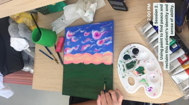 Painting for Art Therapy