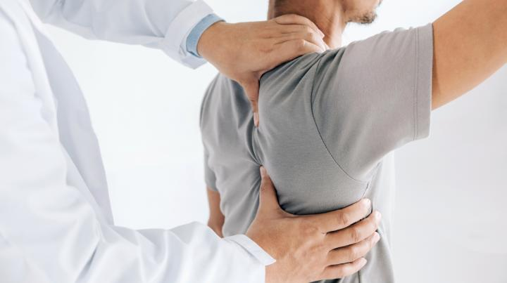 Physical therapy for frozen shoulder