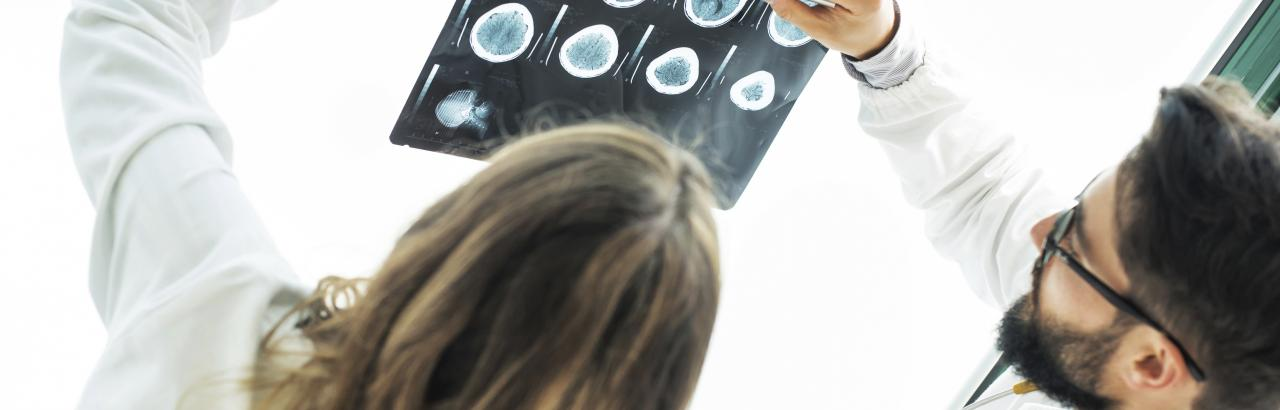 Doctors & Researchers Study MRI Results