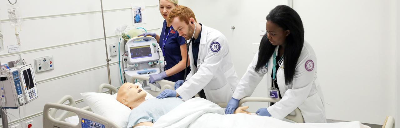 Northwestern students train at AbilityLab