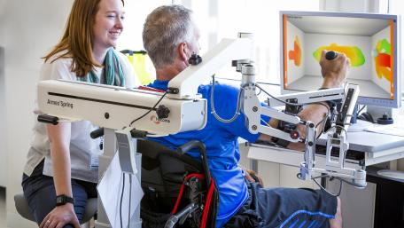 Inpatients benefit from world-class technology in their recovery