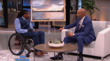 Antonio Davis on the Steve Harvey show